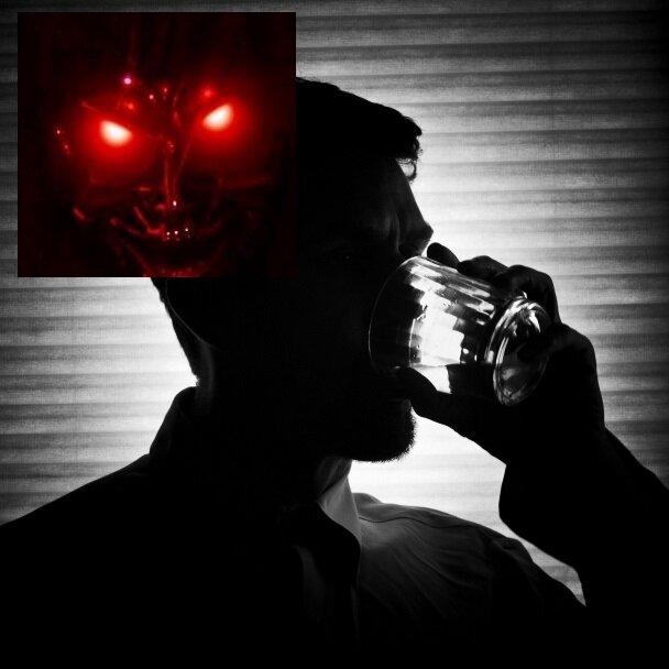 Как выглядит бес пьянства