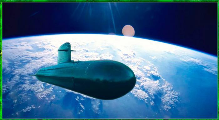 Что будет, если военная подлодка мгновенно телепортируется с глубины 50 метров на околоземную орбиту