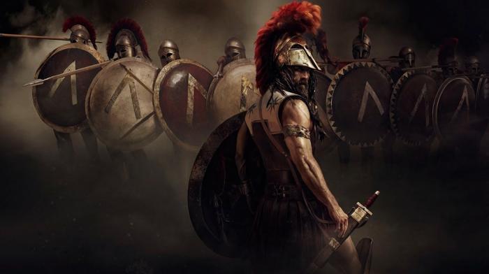 Дань красоте или отличительный знак — для чего спартанцы носили гребни на шлемах (3 фото + видео)