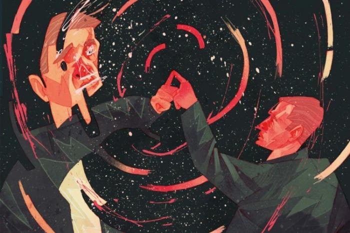 Возможно существует параллельная Вселенная, время в которой идет вспять