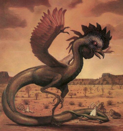 Мифический чудовищный змей Василиск, кем он был и его главная способность