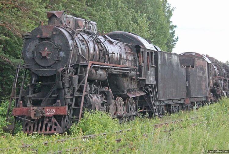 Кладбище паровозов и как утилизируют старые поезда