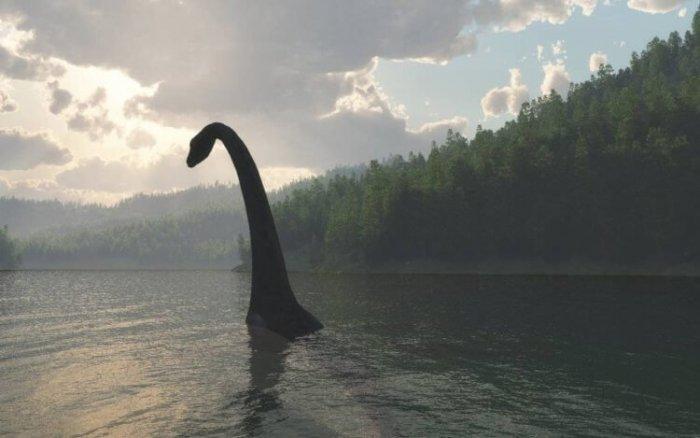 В Интернете снова заговорили о Лох-Несском чудовище