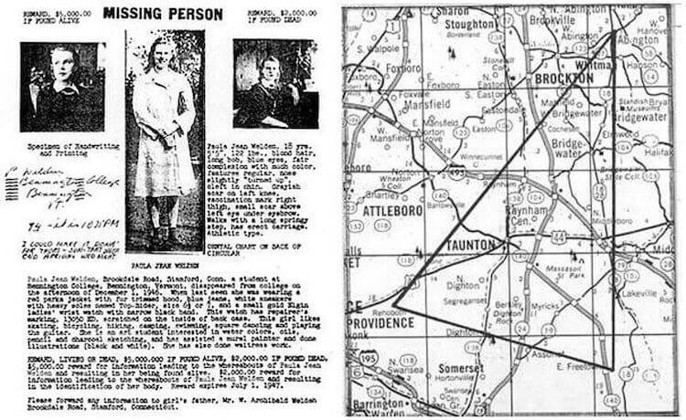 Тайна исчезновения людей в Беннингтонском треугольнике