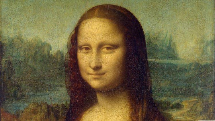 Настоящий код да Винчи обнаружен в глазах Моны Лизы (9 фото)