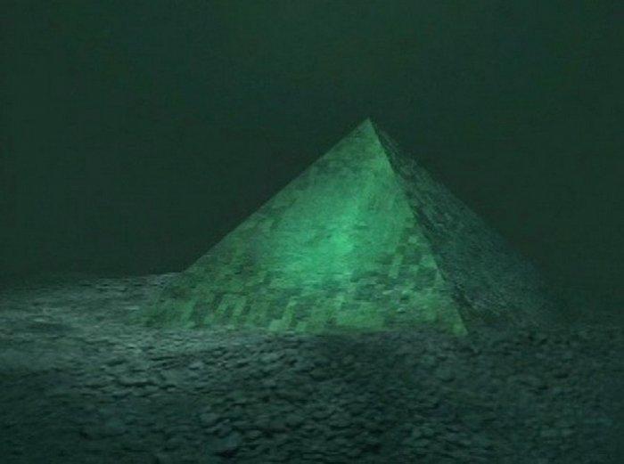 Как на дне Галилейского моря появилась гигантская пирамида