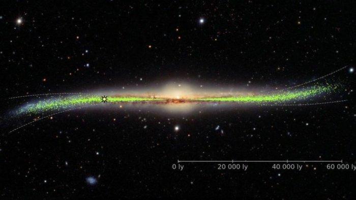 Кривая и закрученная галактика — Млечный Путь не такой, как принято считать