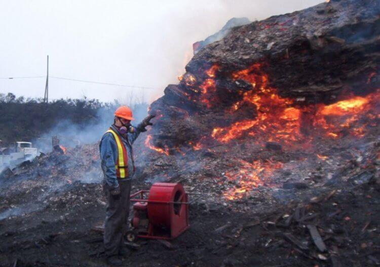5 мест на Земле, где постоянно полыхают пожары