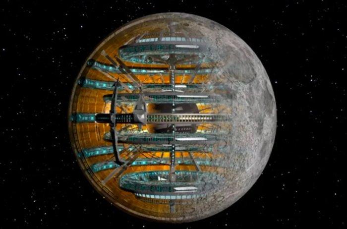 """Луна внутри """"пустая""""! Факты, которые заставляют усомниться в официальной науке"""