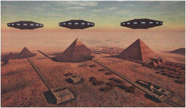 В СССР есть доказательства появления инопланетян в Египте?
