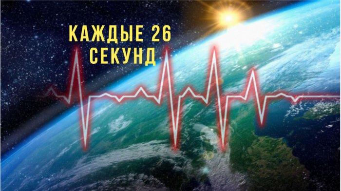 «Пульс Земли»: Загадочные сейсмические толчки повторяются каждые 26 секунд