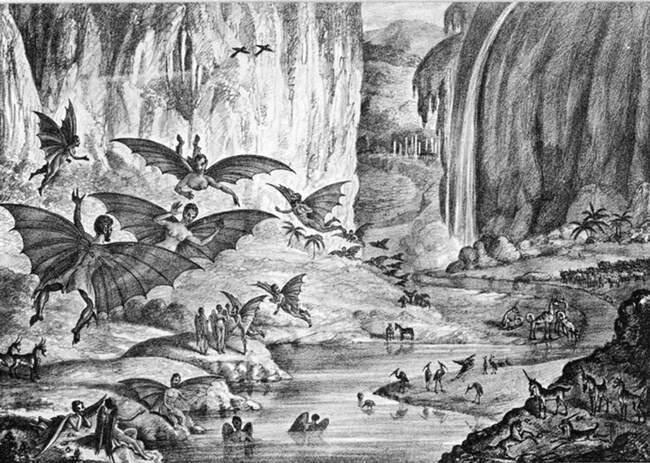 Инопланетяне в представление наших предков (13 фото)