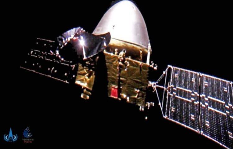 Смотрите свежее видео с Марса (2021), которое отправлено китайской станцией «Тяньвэнь-1»