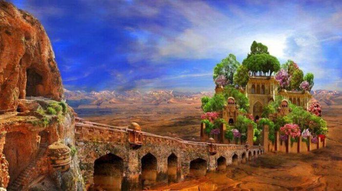 История Висячих садов Семирамиды, кем были построены и для чего