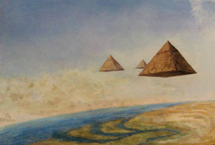 Почему художники прошлого изображали пирамиды не так, как они выглядят на самом деле