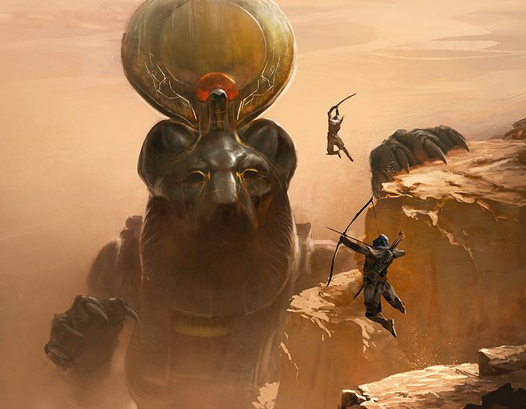 Богиня Cехмет из Египта с головой львицы, главные ее обязанности