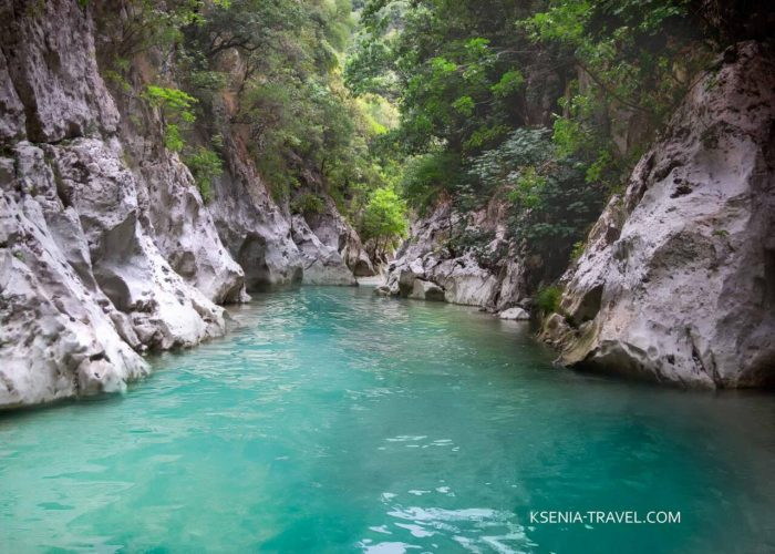 Река Ахерон из царства Аида существует в реальности