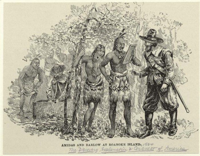 Тайна пропавших 117 человек на острове Кроатоан в 1587 году за одну ночь