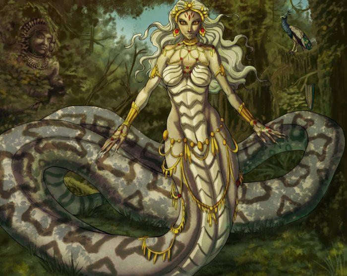 Как живут демоницы Ламии — вампиры со змеиными хвостами