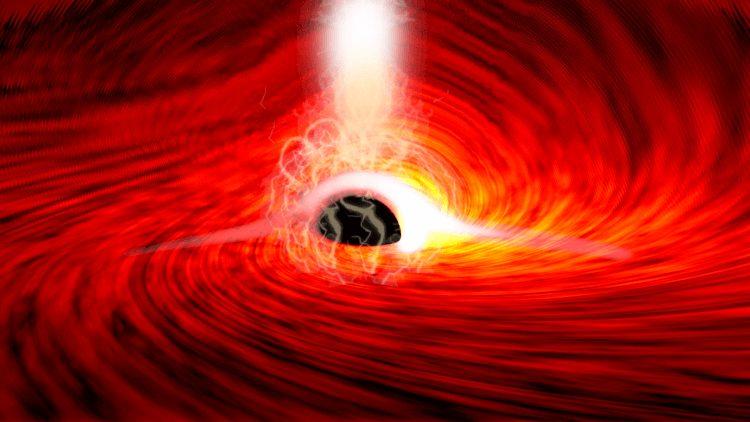Ученые впервые уловили свет за черной дырой! Рассказываем, как им это удалось