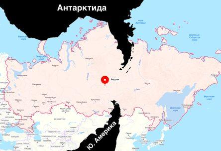 Что находится прямо под Россией с обратной стороны Земли (14 фото)
