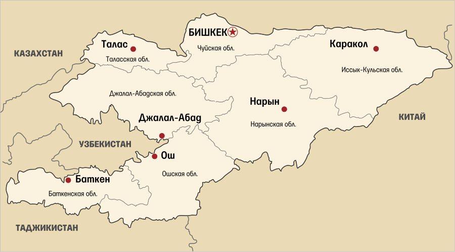 Где находиться страна Кыргызстан и кто в ней живет