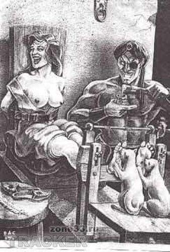 Сексуальные пытки женщин