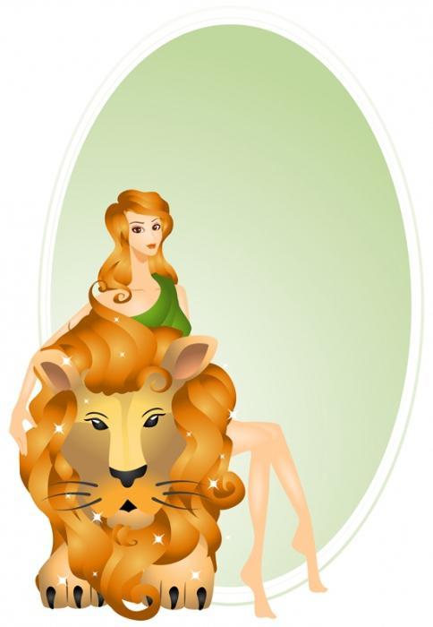 Открытка женщина лев, ржака высказываниями