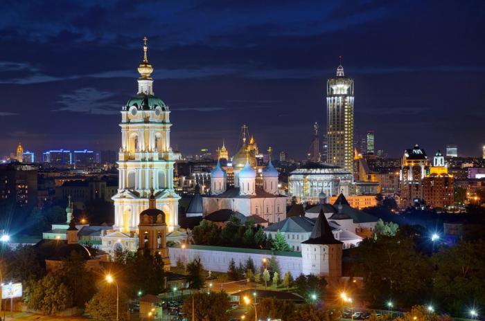 Новоспасский ставропигиальный мужской монастырь в Москве