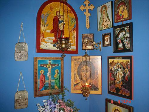 Домашние иконостасы своими руками: фото