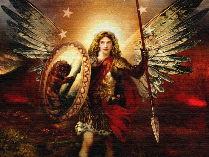 фото видение архангела михаила использует технику ветра