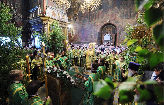Праздник Троица обычаи и обряды
