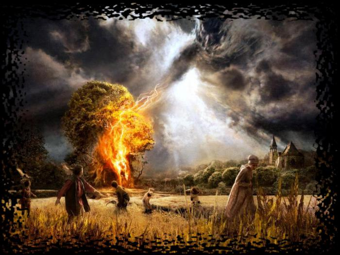 Идолы и капища Перуна в России и Украине создание домашних идолов бога грома и молнии