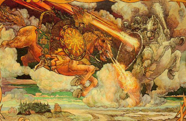Боги славян: Перун Языческий бог Перун Символ Перуна