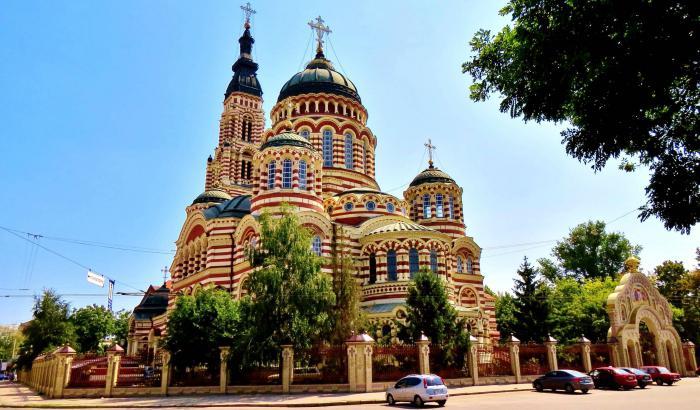 фото благовещенский собор харьков