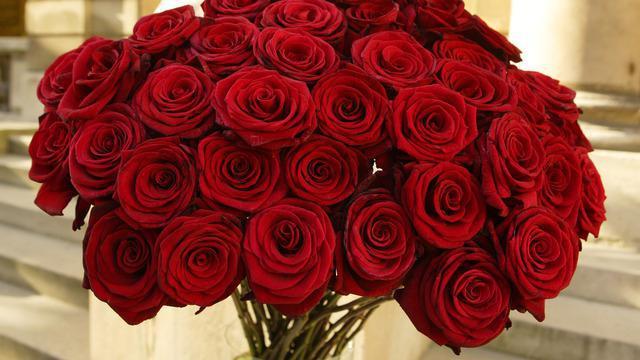 Получать в подарок красные розы во сне